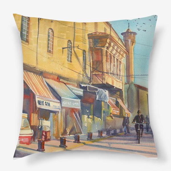 Подушка «Солнечная улица»