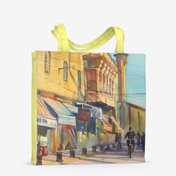 Сумка-шоппер «Солнечная улица»