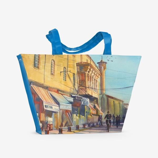 Пляжная сумка «Солнечная улица»