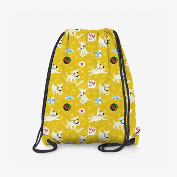 Рюкзак «Паттерн веселые собаки»