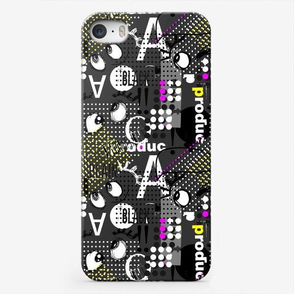 Чехол iPhone «Безумные глазки»
