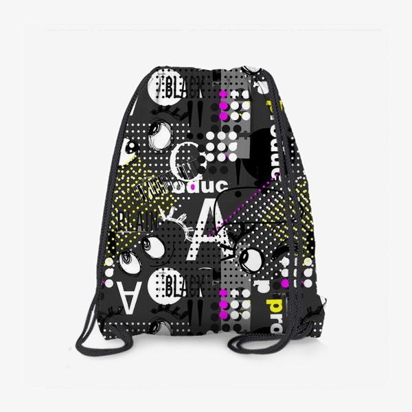 Рюкзак «Безумные глазки»