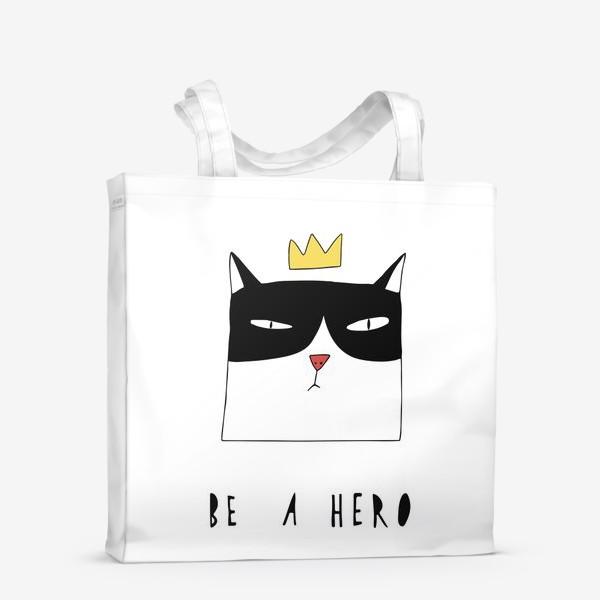 Сумка-шоппер «Be A Hero»