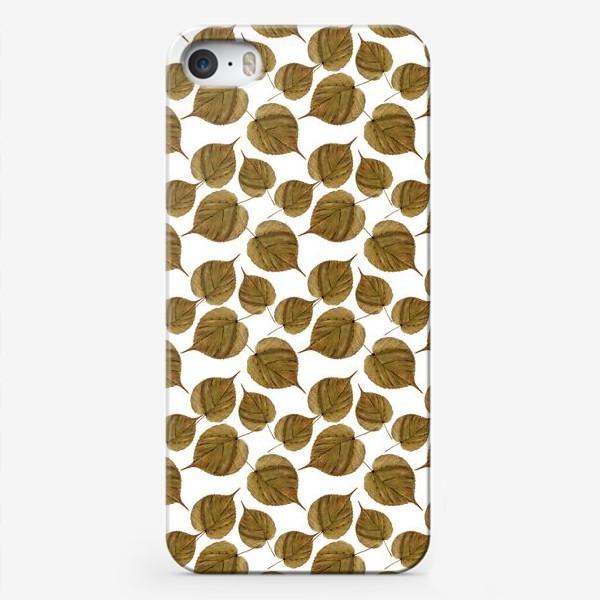 Чехол iPhone «Осенний узор»