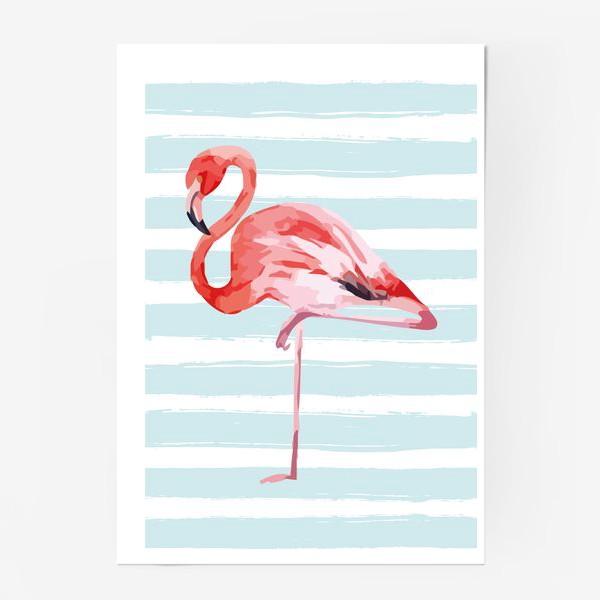 Постер «Фламинго»