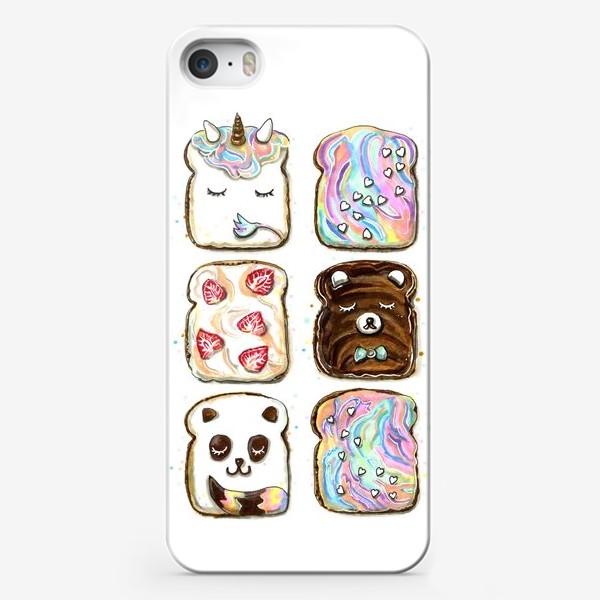 Чехол iPhone «БУТЕРБРОДЫ»