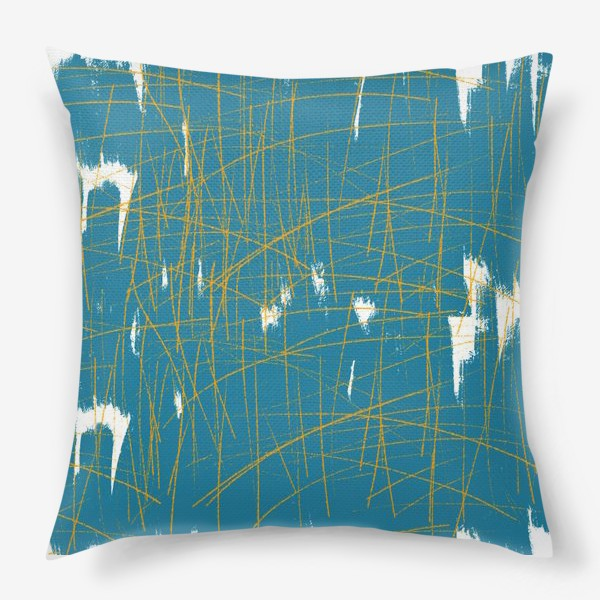 Подушка «абстракция»