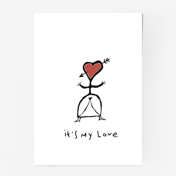 Постер «It`s My Love»