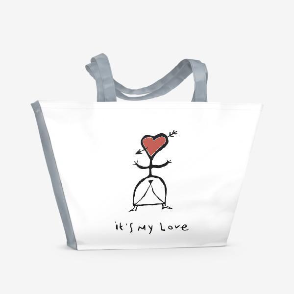 Пляжная сумка «It`s My Love»