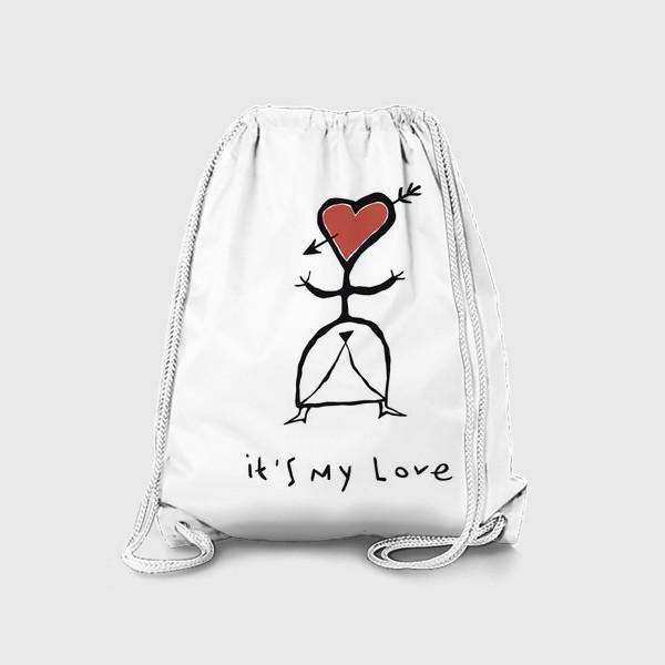 Рюкзак «It`s My Love»