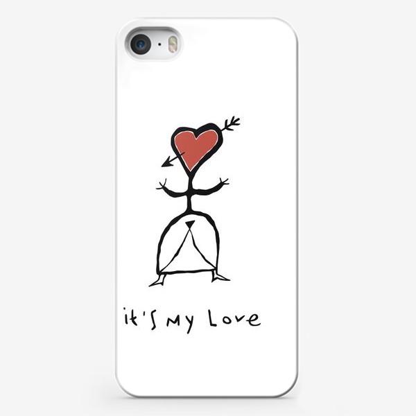 Чехол iPhone «It`s My Love»