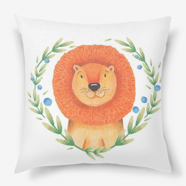 Подушка «Милый лев »