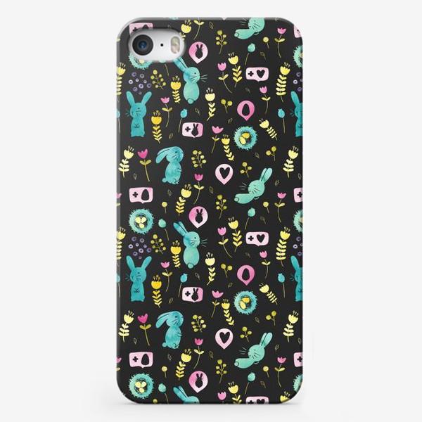 Чехол iPhone «Пасхальные кролики»