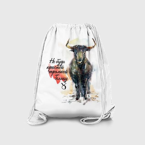 Рюкзак «Не будь красной тряпкой Тельцу»