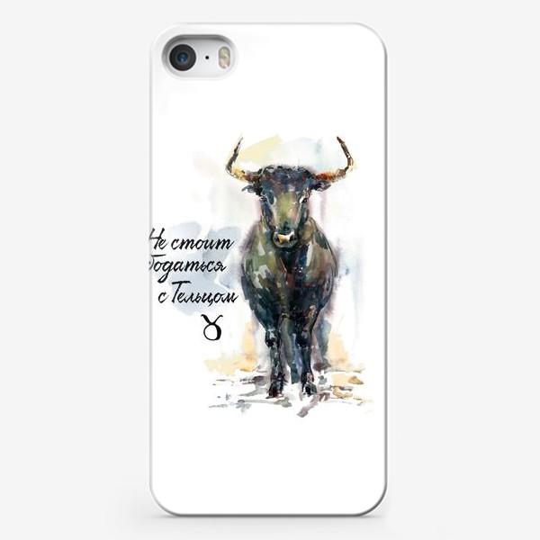 Чехол iPhone «Не стоит бодаться с Тельцом»