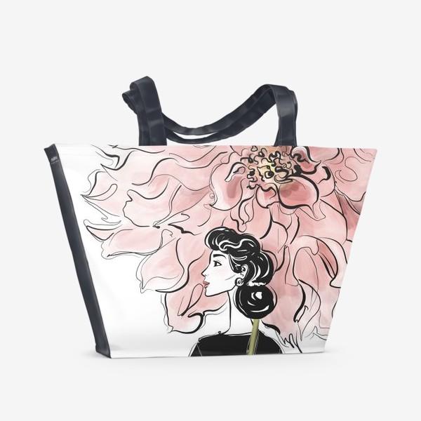 Пляжная сумка «Георгин»