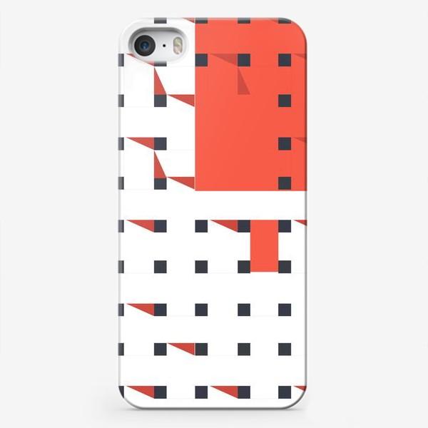 Чехол iPhone «плетеный паттерн»