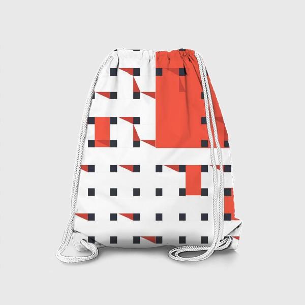 Рюкзак «плетеный паттерн»