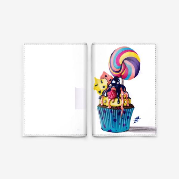 Обложка для паспорта «Кексик»
