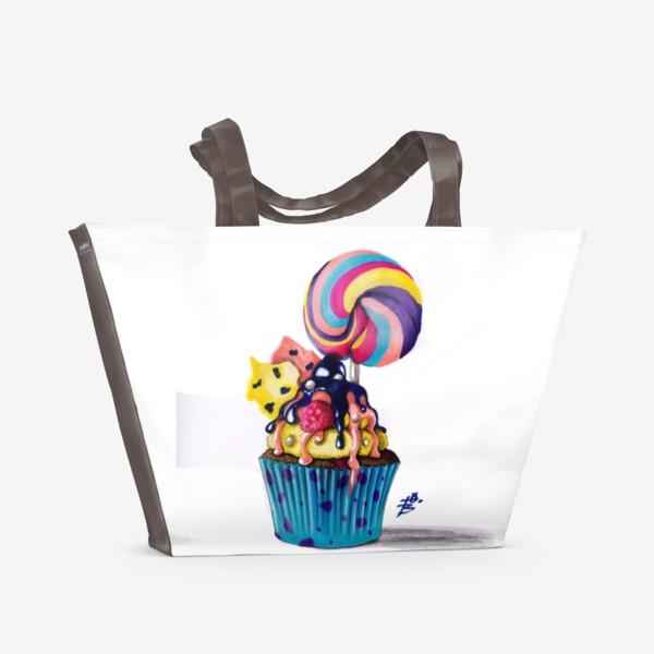 Пляжная сумка «Кексик»