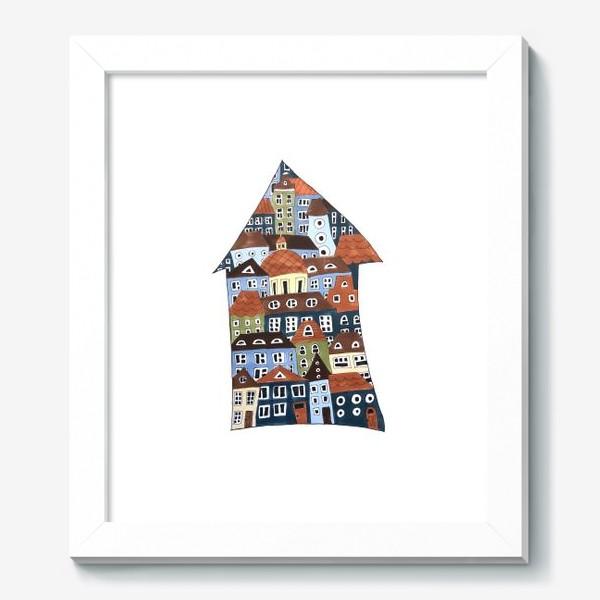Картина «шведские домики»