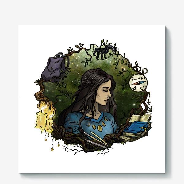 Холст «Мечты о приключениях»