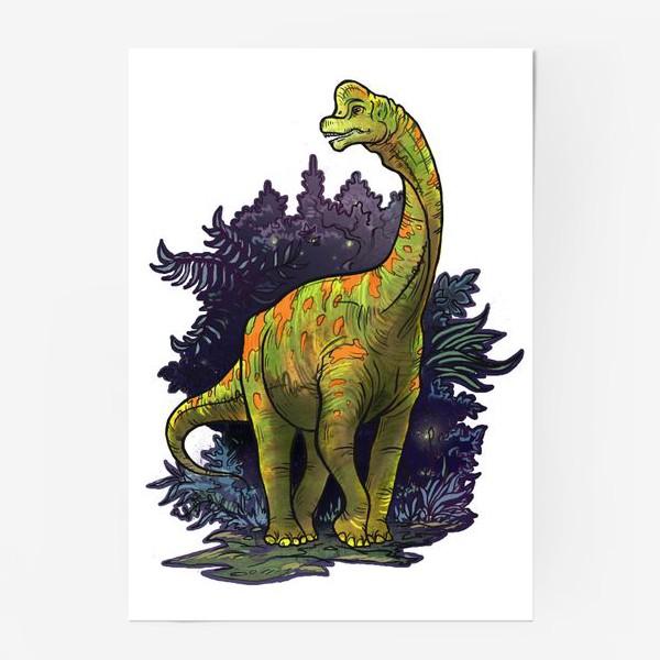 Постер «Динозавр»