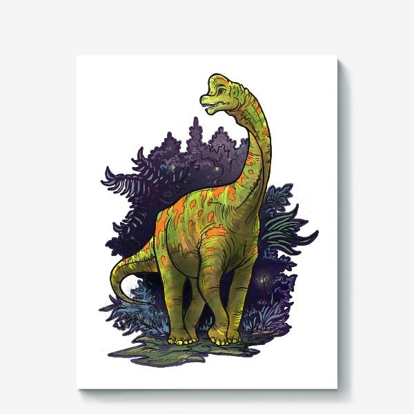 Холст «Динозавр»