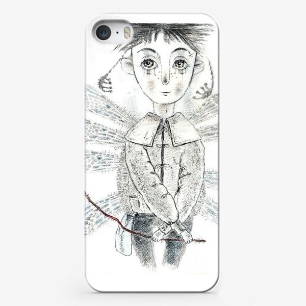 Чехол iPhone «Тебе, Мое сердечко. Крылатый мальчик.»