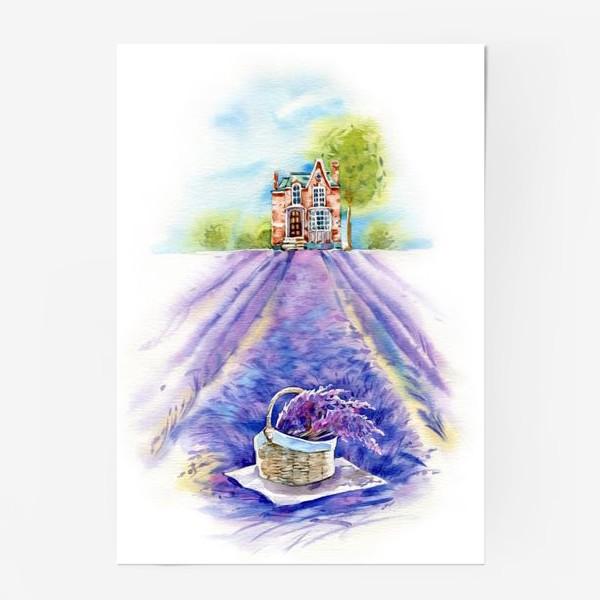 Постер «Домик в провансе»