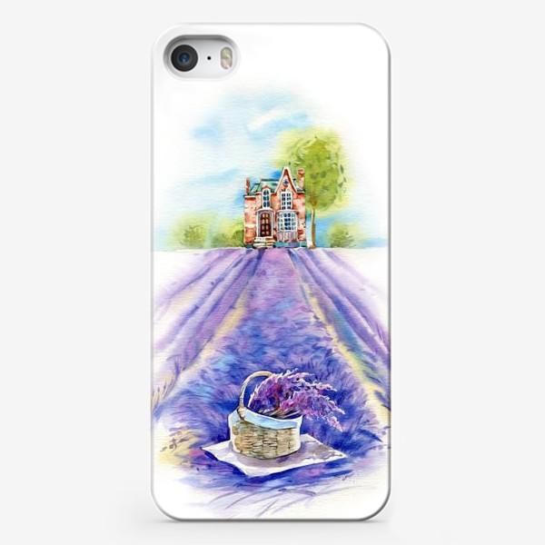 Чехол iPhone «Домик в провансе»