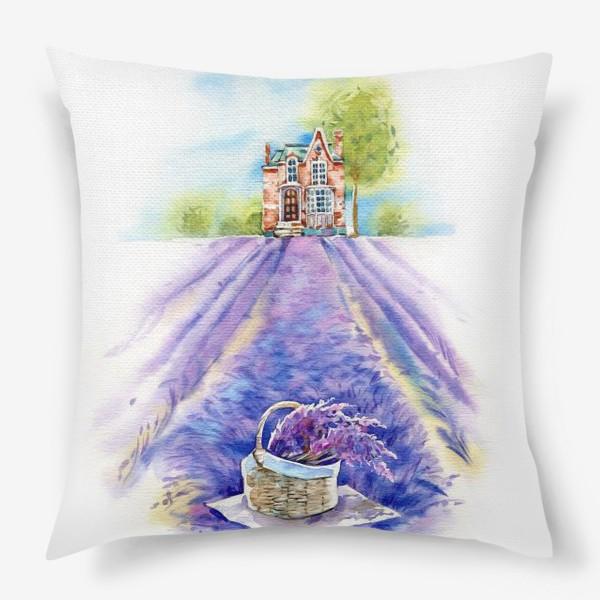 Подушка «Домик в провансе»