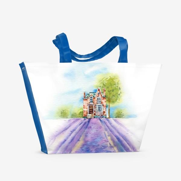 Пляжная сумка «Домик в провансе»