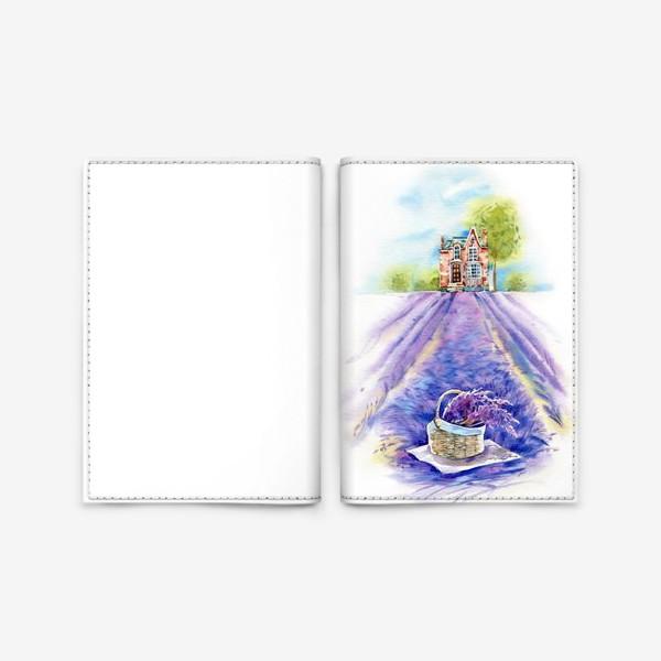 Обложка для паспорта «Домик в провансе»