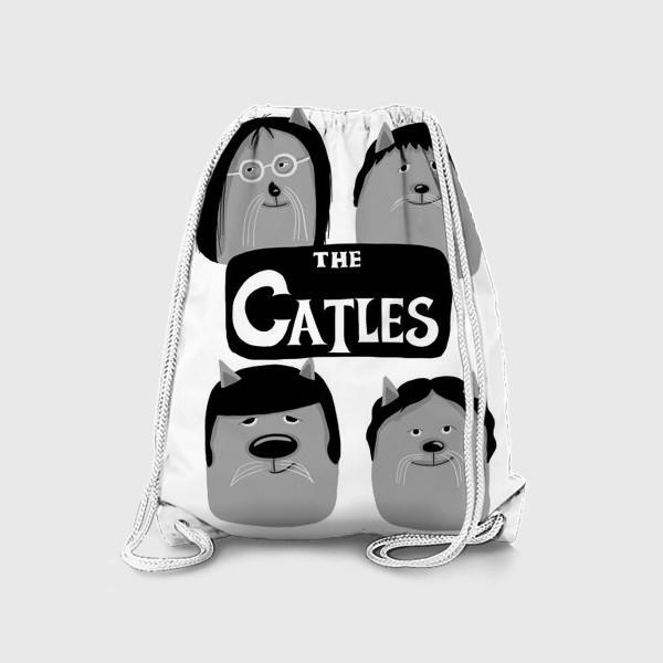 Рюкзак «Коты-Битлы»