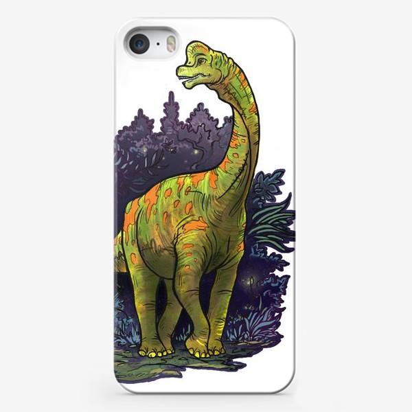 Чехол iPhone «Динозавр»