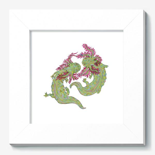Картина «dancing axolotl»