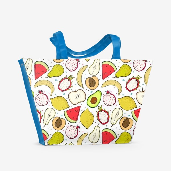 Пляжная сумка «Фруктовое настроение»