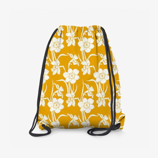 Рюкзак «Нарциссы на желтом фоне»