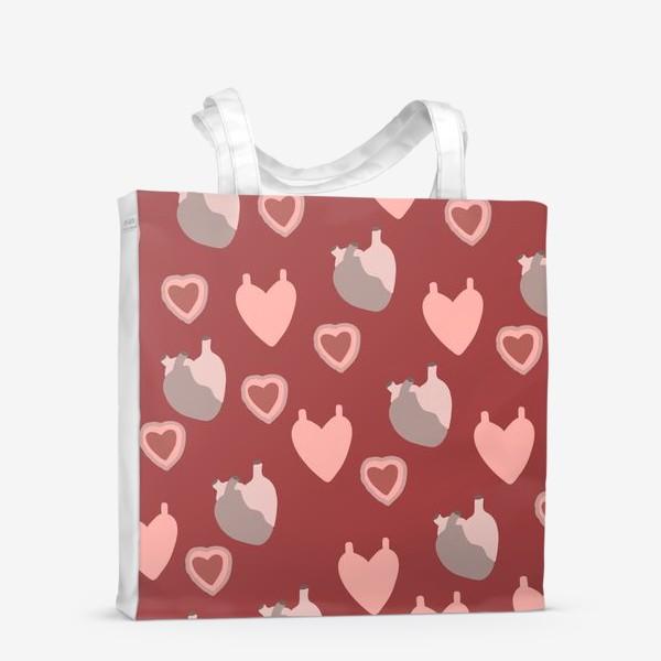 Сумка-шоппер «сердце»