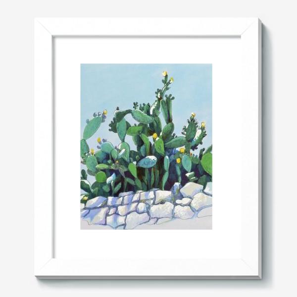 Картина «Кактусы»