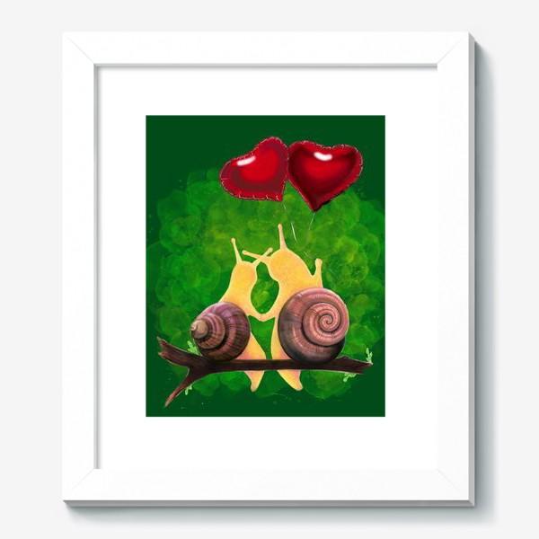 Картина «snail love»