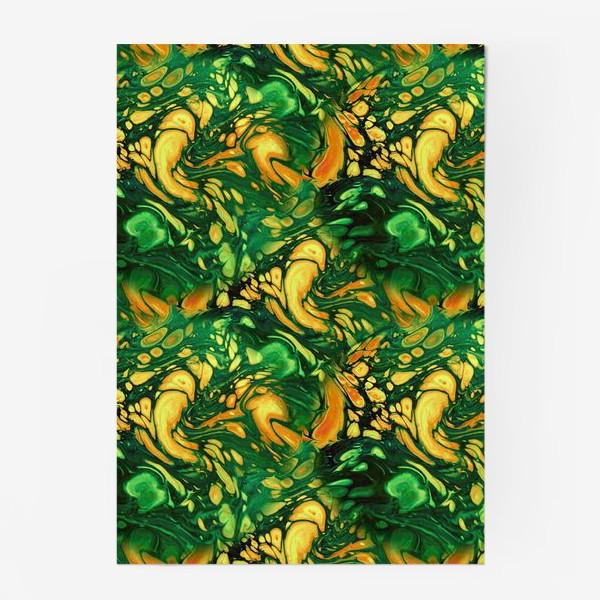Постер «Осенняя фантазия (жидкий акрил)»