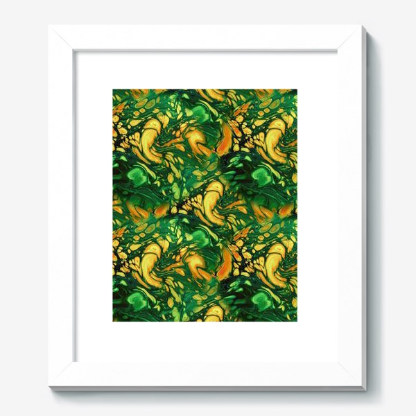 Картина «Осенняя фантазия (жидкий акрил)»