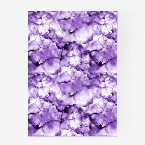 Постер «Фиолетовое безумство (спиртовые чернила)»