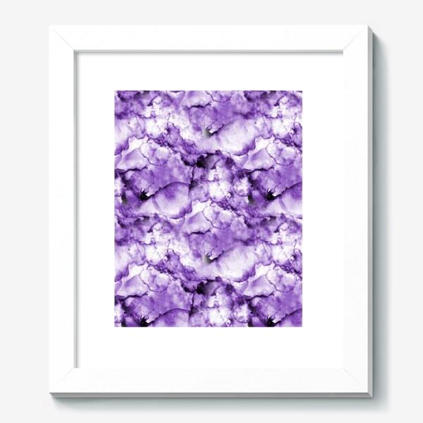 Картина «Фиолетовое безумство (спиртовые чернила)»