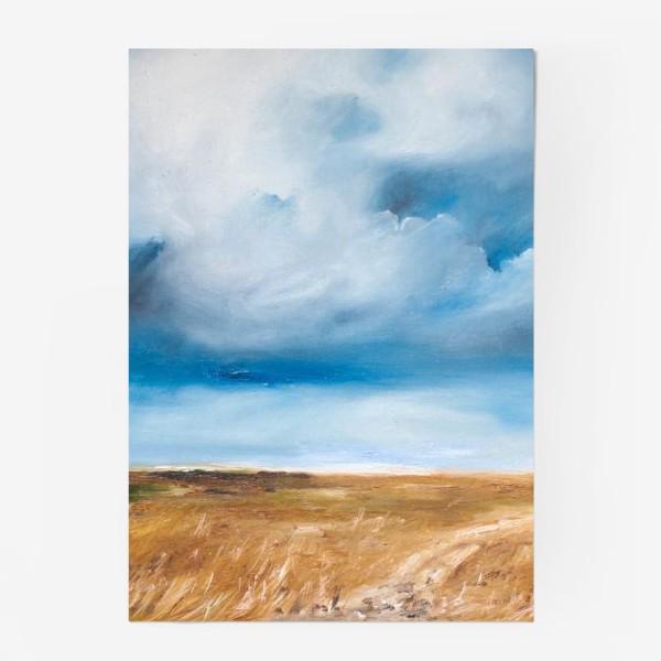Постер «Дождь в степи»