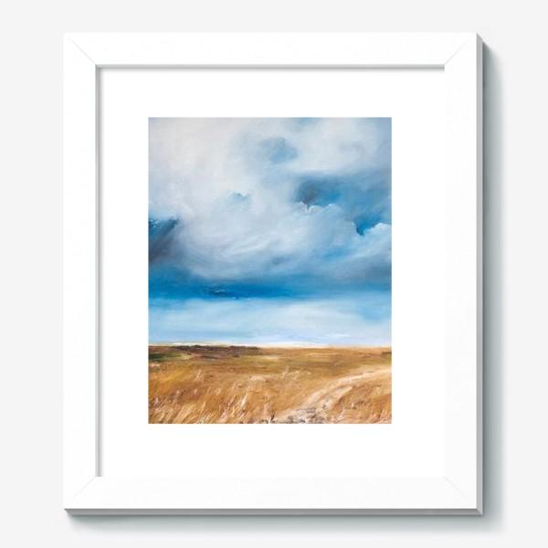 Картина «Дождь в степи»