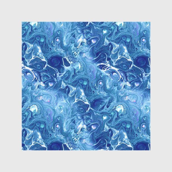 Скатерть «Морская фантазия (жидкий акрил)»