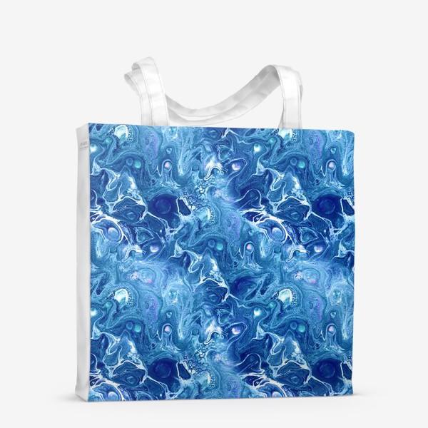 Сумка-шоппер «Морская фантазия (жидкий акрил)»
